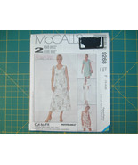 McCall's 9268 Size 16 18 20 Misses' Dress in Two Lengths 2 Hour Pattern - $11.64