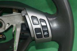 07-12 Suzuki SX4 SX-4 Leather Steering Wheel w/ Multifunction Controls image 3
