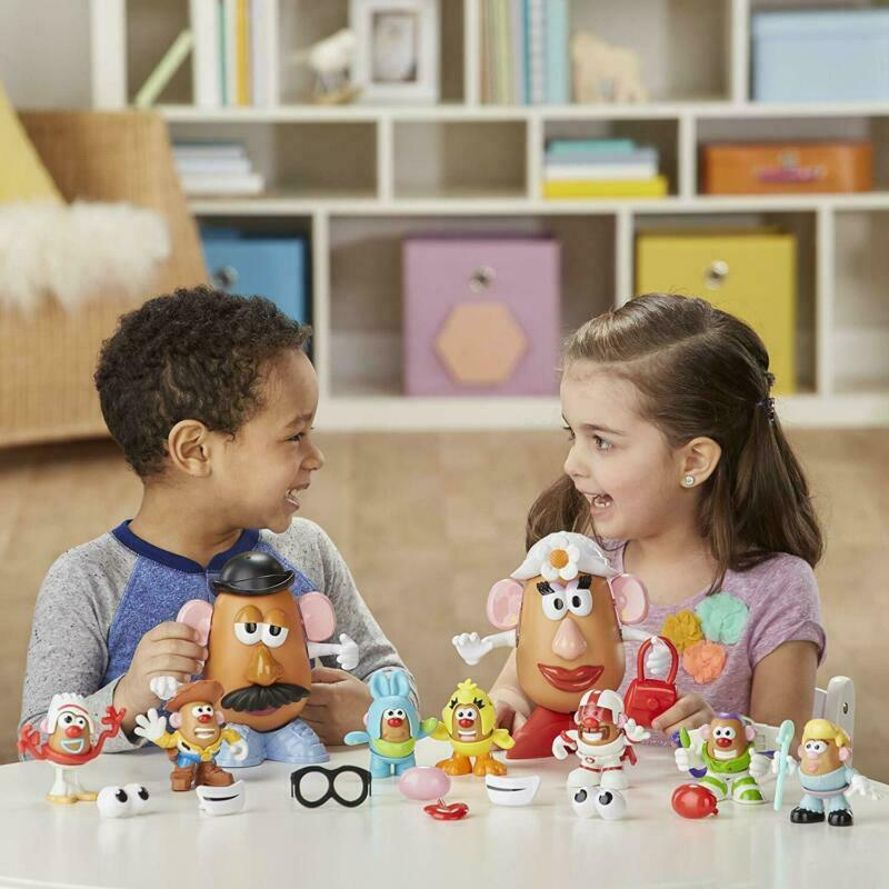 Mr Potato Head Disney/Pixar Toy Story 4 Andy'S Playroom Potato Pack Toy For Kids image 4