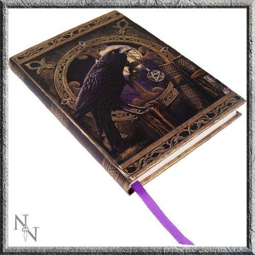 Black Raven & Pentagram Talisman Embossed Journal By Lisa Parker image 2