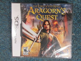 Nintendo DS Lord of the Rings Aragorn's Quest BRAND NEW - $9.90
