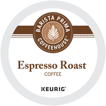 Barista Prima Coffeehouse Espresso Roast Coffee 24 to 144 Kcup Pick Any Quantity - $25.98+