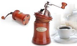 Wooden & Metal Design Mini Manual Coffee Grinder - $24.99
