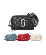MARC JACOBS Quilted Soft Shot 21 M0015419 Free Shipping - $239.00