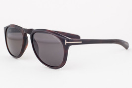 Tom Ford Flynn Dark Havana / Green Polarized Sunglasses TF291 52R - $244.02