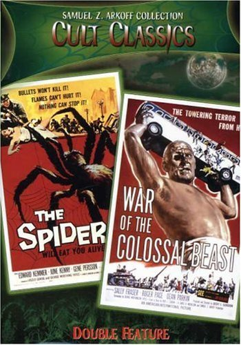 Earth Vs. The Spider / War of the Colossal Beast DVD