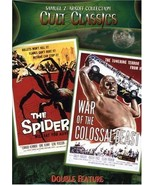 Earth Vs. The Spider / War of the Colossal Beast DVD  - $24.95