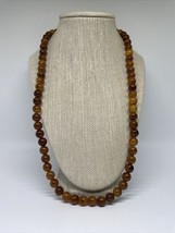 Vintage Sarah Coventry Amber Look Beads - $39.59