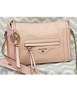 Michael Kors CARINE Large Pebble Leather Crossbody Purse Shoulder Bag LI... - $188.09