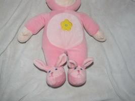 Beverly Hills Teddy Bear Co Company Stuffed Plush Cloth Pink Doll Bunny ... - $44.54