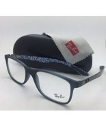 New RAY-BAN Eyeglasses TECH SERIES RB 8903 5262 55-17 Blue-Grey w/ Carbo... - $299.95