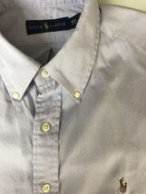 Polo Ralph Lauren Men Shirt Casual Long Sleeve Button Up Down 16.5 34-35... - $18.46