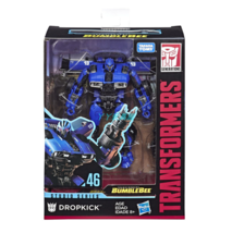 Transformers Studio Series 46 Deluxe Class Bumblebee Movie Dropkick Figure - $23.51