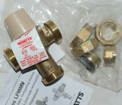 Watts Thermostatic Mixing Valve Threaded 3/4 Inch LFMMVM1 UT image 1