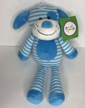 Animal Adventure Puppy Dog Blues White Stripe Sweet Sprouts Target Plush... - $48.32