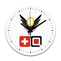 Overwatch Mercy Home Bed Room Decor Round Wall Clock - $27.99