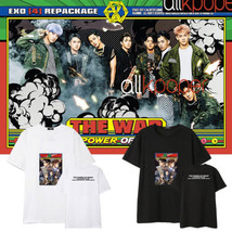 KPOP EXO T-shirt Album Tshirt THE WAR The Power of Music S.COUPS JOSHUA Tee - $12.07