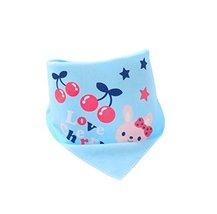 Pure Cotton,3Pcs Baby Neckerchief/Saliva Towel For Baby,Rabbit