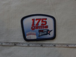 RARE USBC United States Bowling Congress 175 game patch award YOUTH adul... - $11.47