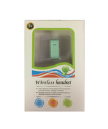 3G Bluetooth 3.0 Wireless Headset Handsfree Voice Dialing Teal - $6.92
