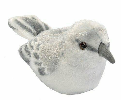 Audubon Birds Northern Mockingbird Plush with Bird Sound, Stuffed Animal - $19.95