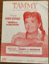 Original 1957 Debbie Reynolds Tammy Sheet Music - $4.00