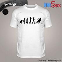 New Logo Ice Hockey T-shirt Evolution Tshirt Skating Shirt Canada Sport ... - $14.99+