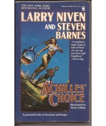 Achilles' Choice Paperback Illustrated By Boris Vallejo Larry Niven  - $2.95