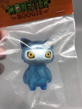 Max Toy Blue Clear Mini Cat Girl - Mint in Bag image 6