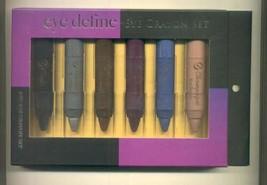 Giordano Colors EYE DEFINE 6 PC Eye Crayon Set-Big Giant 2 oz Pencils!! ... - $8.95