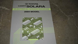 2004 Toyota CAMRY SOLARA Electrical Wiring Diagram Service Manual EWD FA... - $9.90