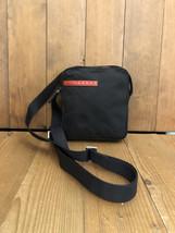 Authentic PRADA Black Tessuto Mini Crossbody Bag Unisex - $295.00