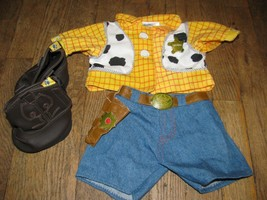 Build a Bear Woody outfit Sheriff from Disney Toy story - $10.99