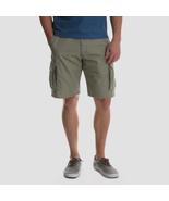 Wrangler Brand Cargo Shorts ~ Men's Size 46 ~ British Khaki ~ Hits @ Kne... - $24.00
