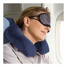 U Shaped Travel Neck Pillow Memory Foam Head Support Flight Rest Cushion... - $29.41
