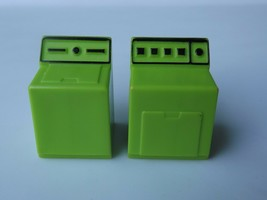 Vintage Fisher Price Little People Washer Dryer Green House Replacement Toy - $9.50