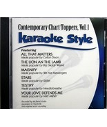 Contemporary Chart Toppers Volume 1 CD Christian Karaoke Music 6 Songs - $15.86