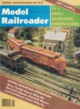 November 1977 Model Railroader Magazine Milwaukee Road 55-Ton Ore Hopper... - $9.85