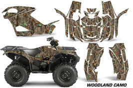 ATV Graphics Kit Quad Decal Wrap For Yamaha Grizzly 550/700 2015-2016 WO... - $267.25