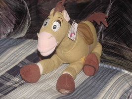 "12"" Disney Bullseye Horse Plush Toy With Tags From Toy Story - $49.49"