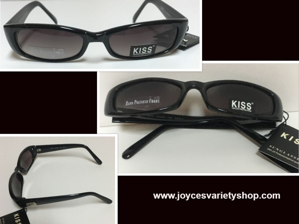 Primary image for KISS Italy Designed Sunglasses 100% UV Protection Black