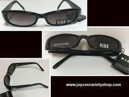 KISS Italy Designed Sunglasses 100% UV Protection Black  - $10.99