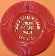 NCV Casino Chip. King 8, Las Vegas, NV. 1980s. Q70. - $4.29