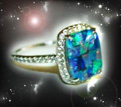 Haunted Ring Alexandria's Personal Crystal Legacy Powers Secret Ooak Magick - $9,978.77