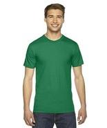 American Apparel Unisex Fine Jersey Short-Slv T-Shirt Kelly Green 3XL NE... - $10.87