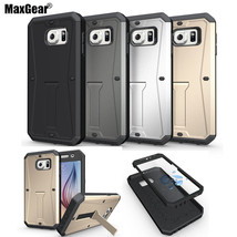 MaxGear® Military Tanks Armour 3in1 PC + TPU Hybrid Case Cover Samsung GALAXY S6 - $9.72