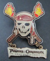 Disney Official Pin Trading Pirates of Caribbean Dead Man's Chest Dangle... - $9.89