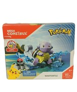 Mega Construx Pokemon Wartortle Building Set DYF12 97 Pcs Brand New Sealed - $33.06