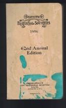 Statistics Fraternal Insurance Societies 1956 Edition Fraternal Monitor  - $15.37