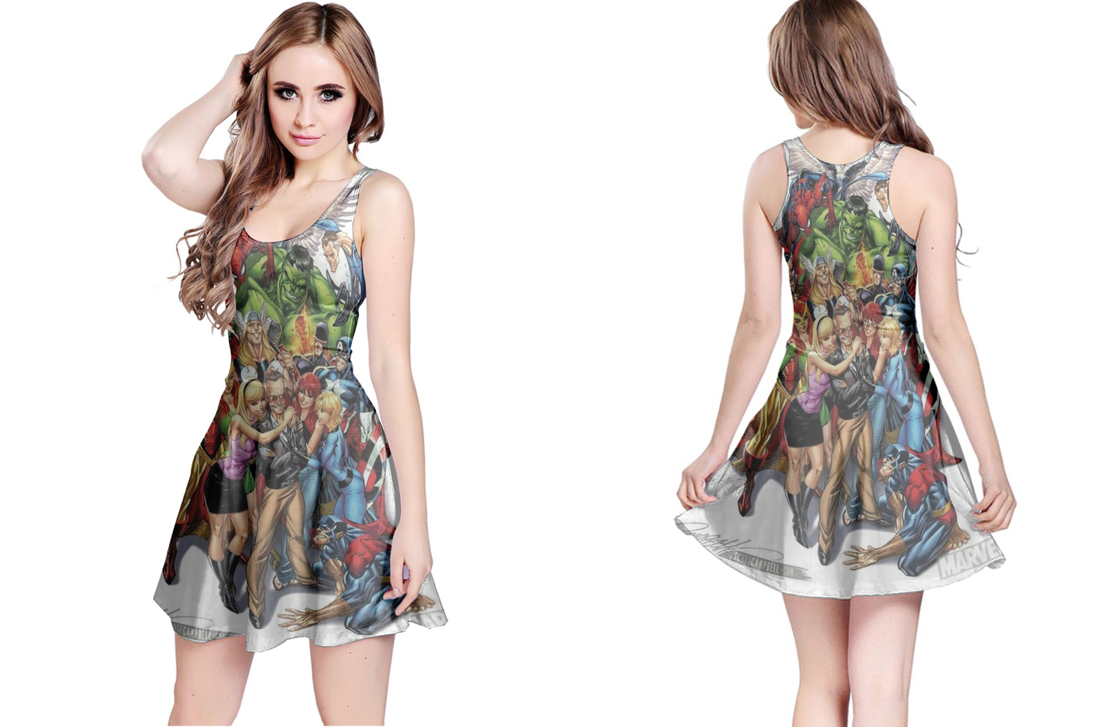 Primary image for 1Marvel universe Reversible Dress